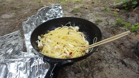 コンロと鍋