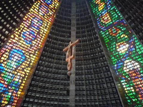 カテドラル・メトロポリターナのキリスト像