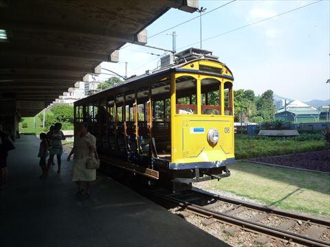 リオの電車