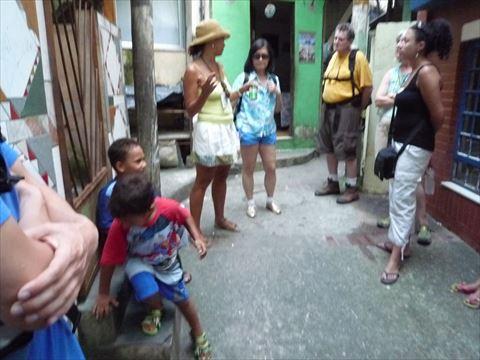 リオのファベーラツアー