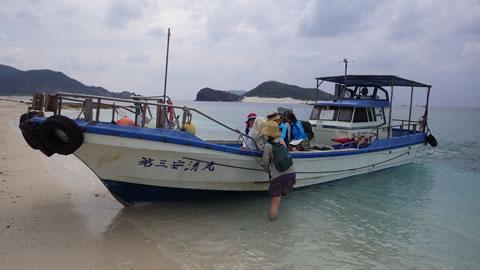 安慶名敷島渡船