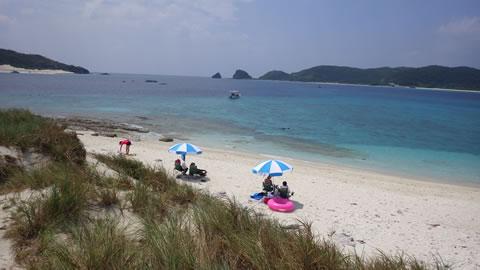 安慶名敷島ビーチ