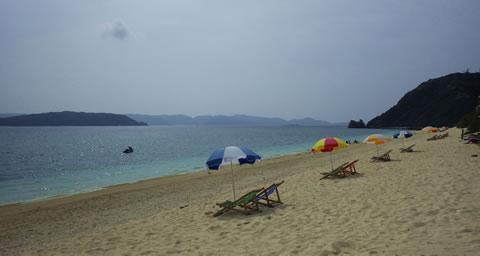 北浜ビーチ砂浜